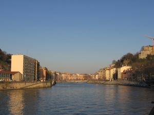 La Saône à Lyon 12