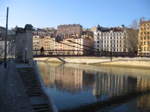 La Saône à Lyon 10