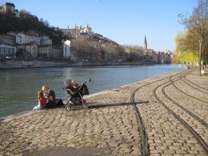 La Saône à Lyon 8