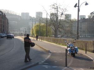 La Saône à Lyon 11