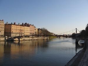 La Saône à Lyon 9