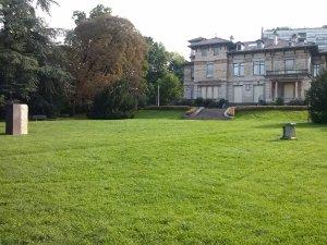 La Villa Gillet et le parc de la Cerisaie