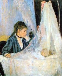 Berthe_Morisot,_Le_berceau1872