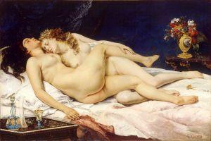 Courbet_Sommeil lesbien