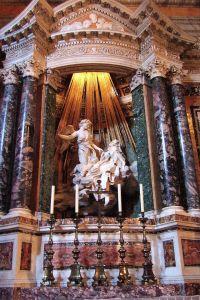 Bernini, Extase de saine Thérèse.