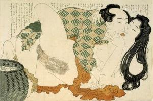 SHUNGA Hokusai_