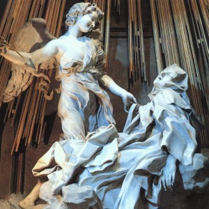 Bernini Extases détail 1