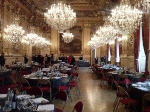 Grand salon de l'Hôtel de ville de Lyon, 07 janvier 2015
